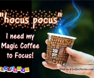 Enjoy This Funny Magic Coffee Cup Videos
