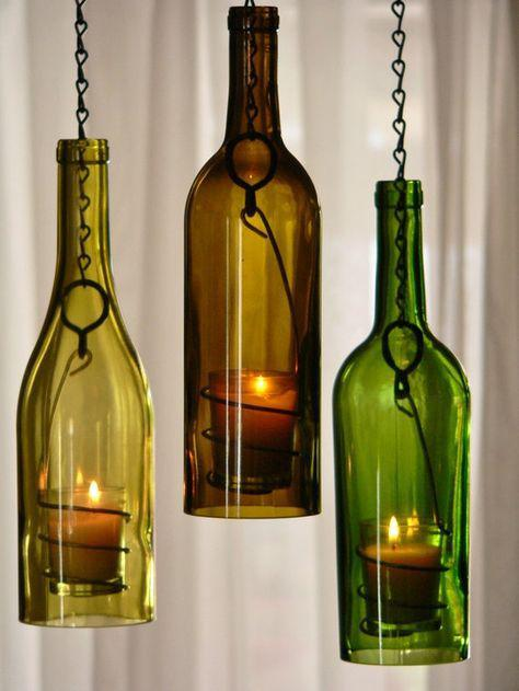 Diy Wine Bottle Candles Easy Diy Instructions On How To