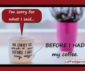 I Am Sorry For What I Said Before I Had My Coffee
