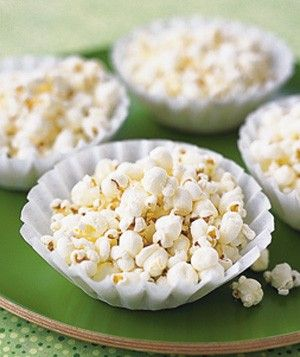 Coffee Filter Uses - Popcorn Bowl