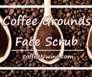 Coffee Grounds Face Scrub